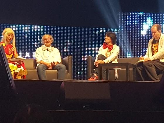 Talk mit Uematsu und Soken